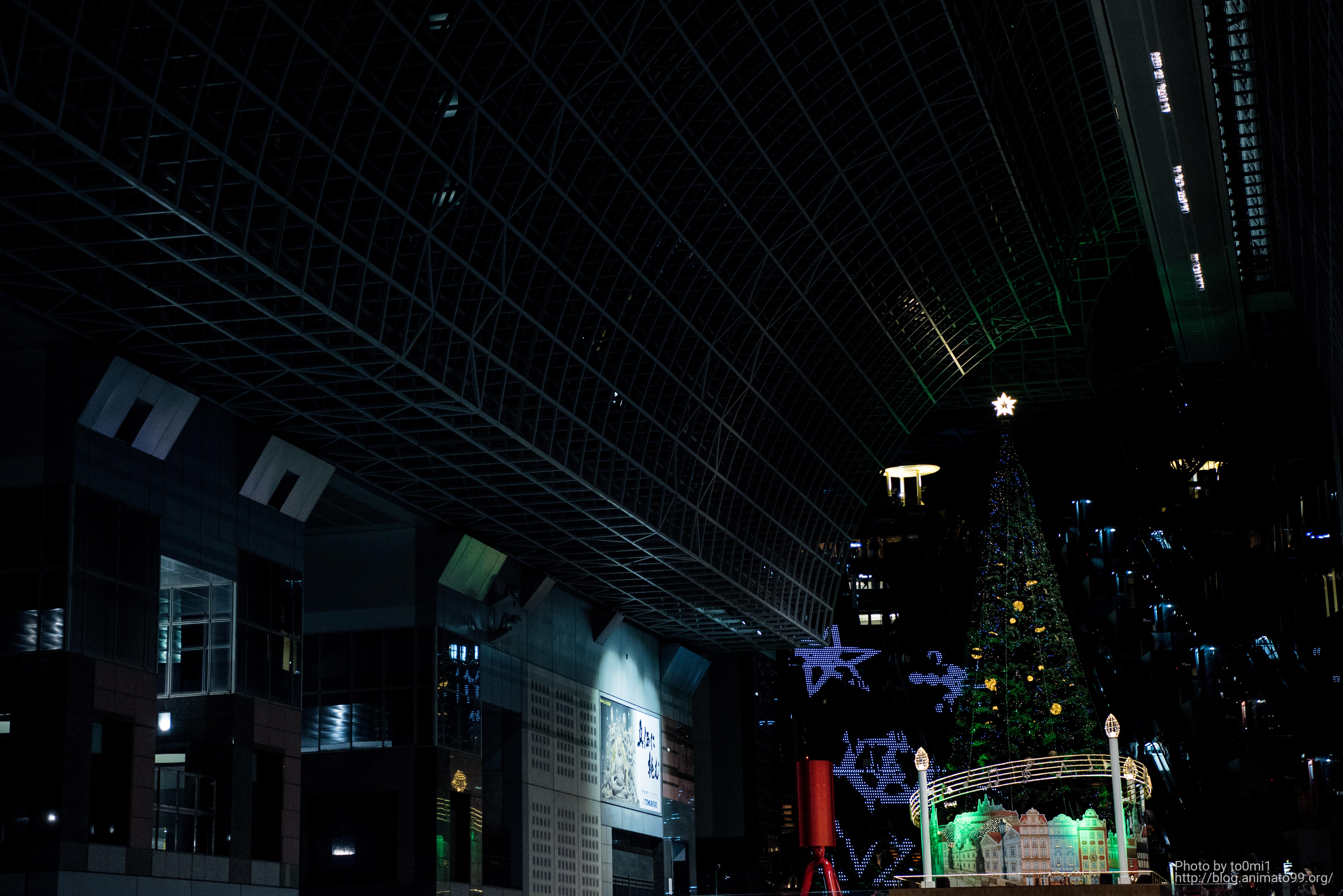 京都駅のイルミネーション