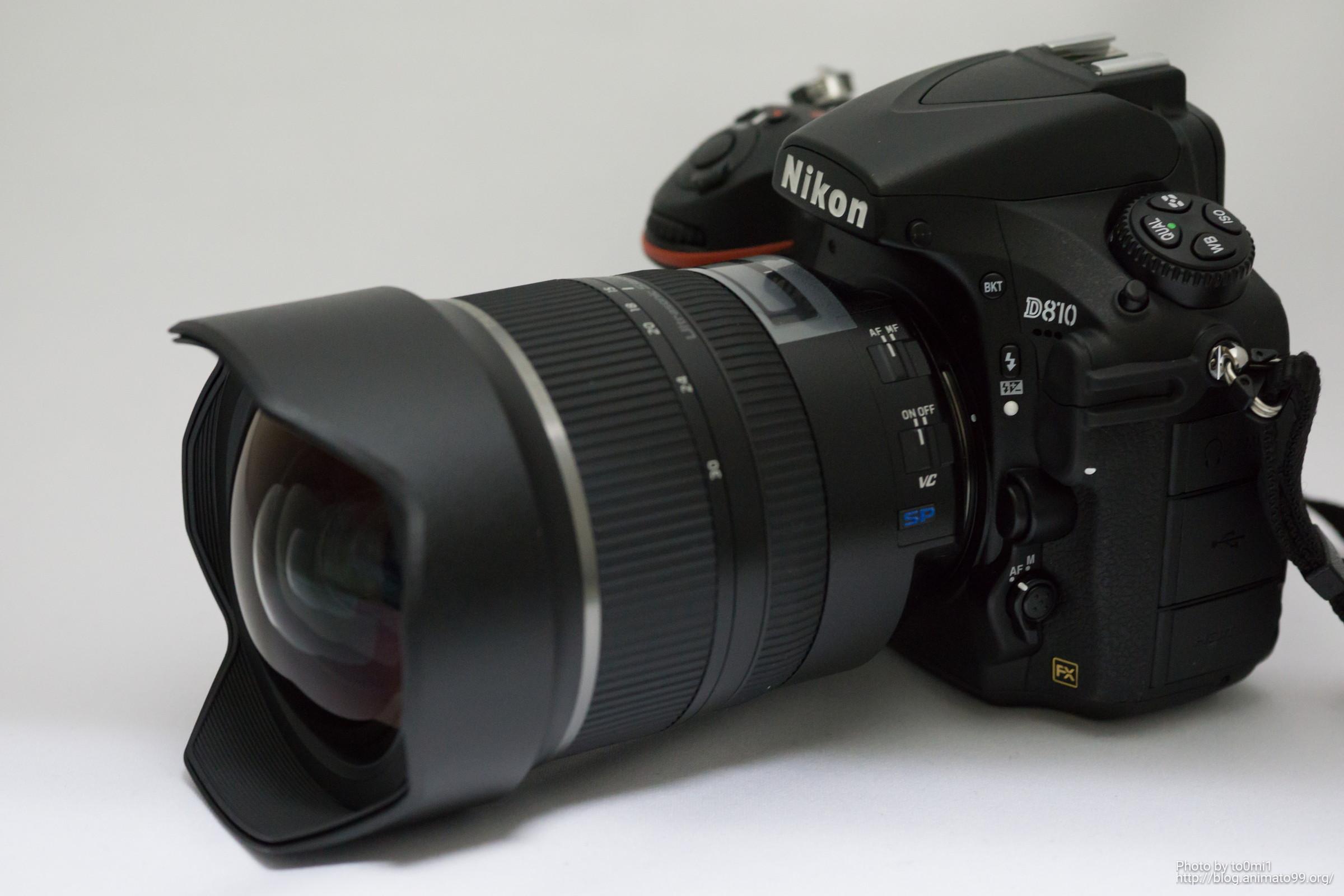 タムロンの超広角ズーム SP 15-30mm F/2.8 Di VC USD を購入しました。