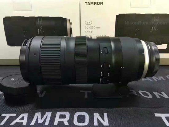 TAMRON 70-200mm F/2.8 新型