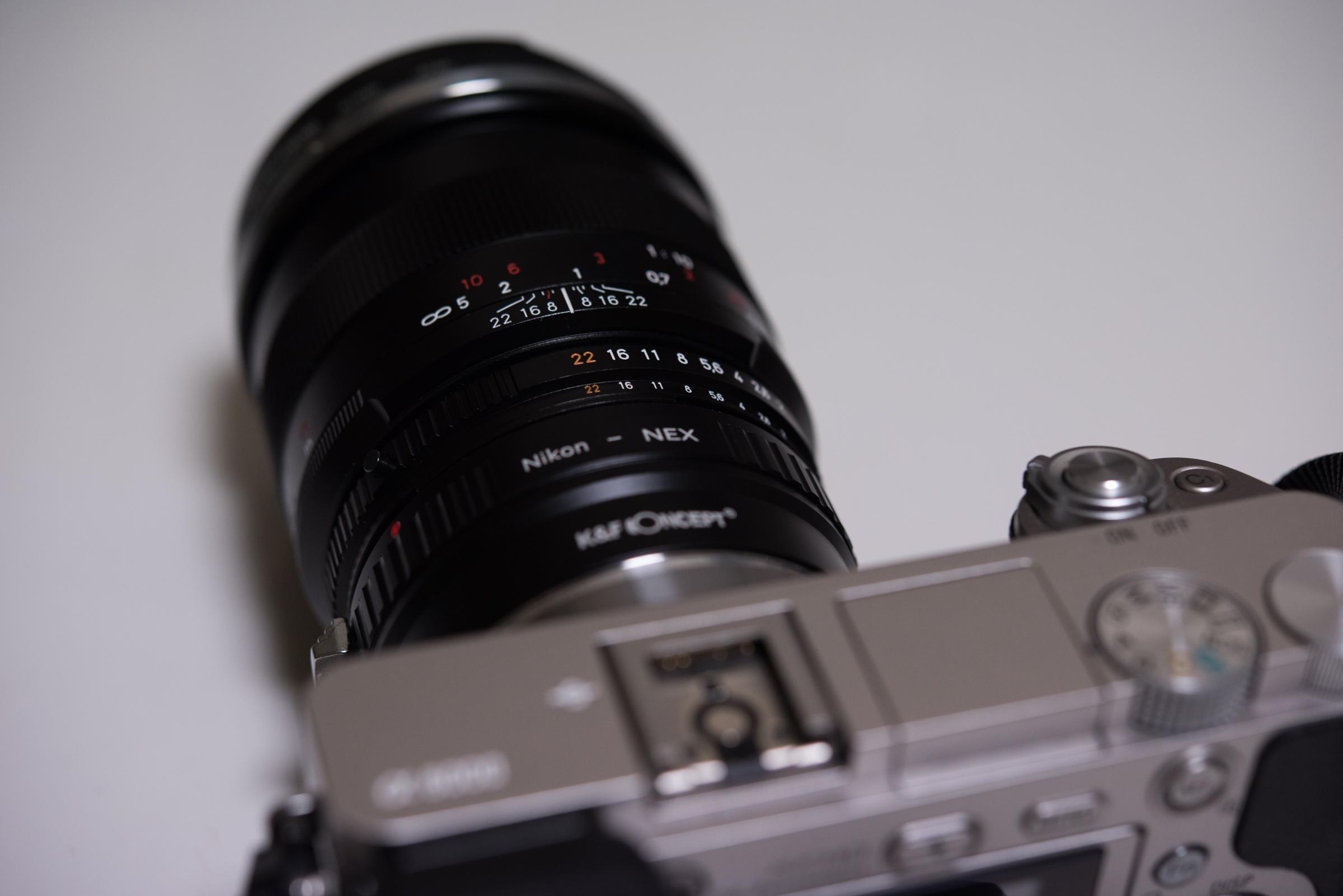 K&F Concept AIレンズ- Sony NEX E を買ったぞ!