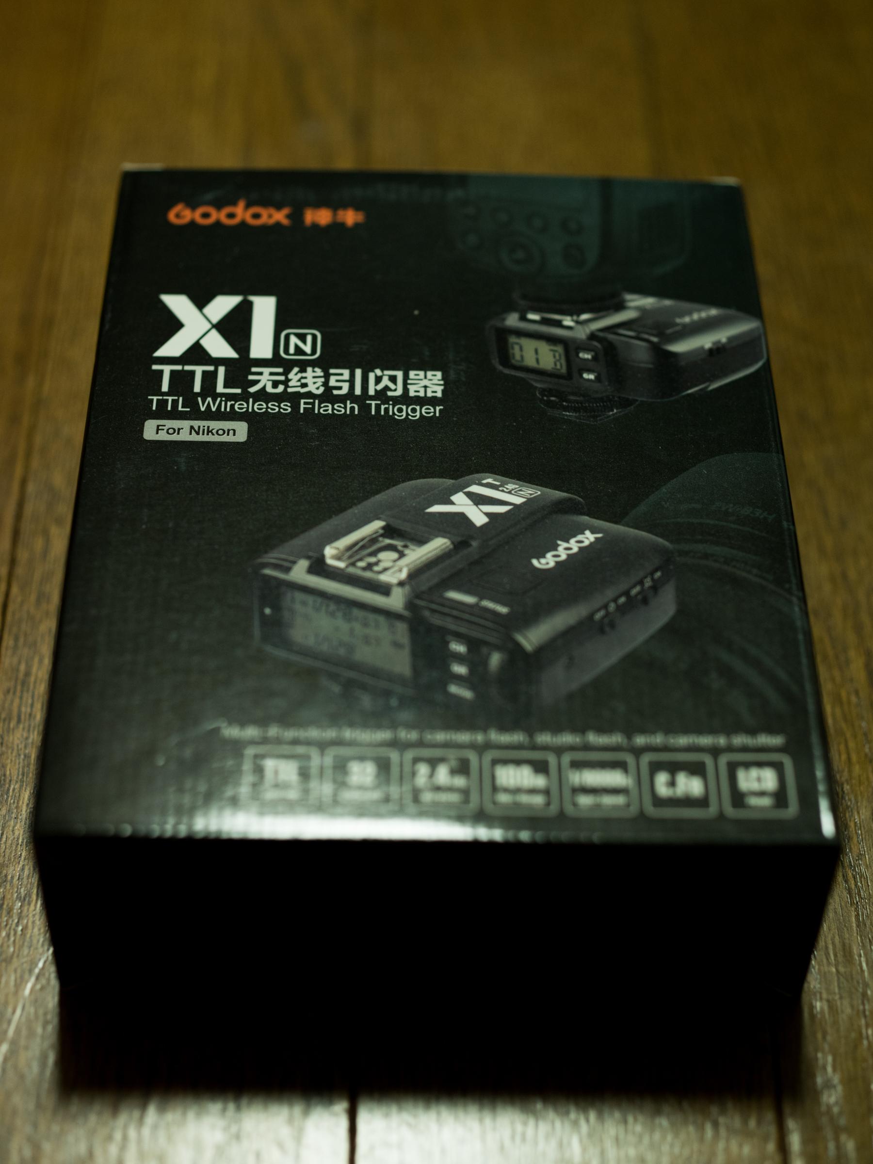 Godox X1T-N買っちまった…