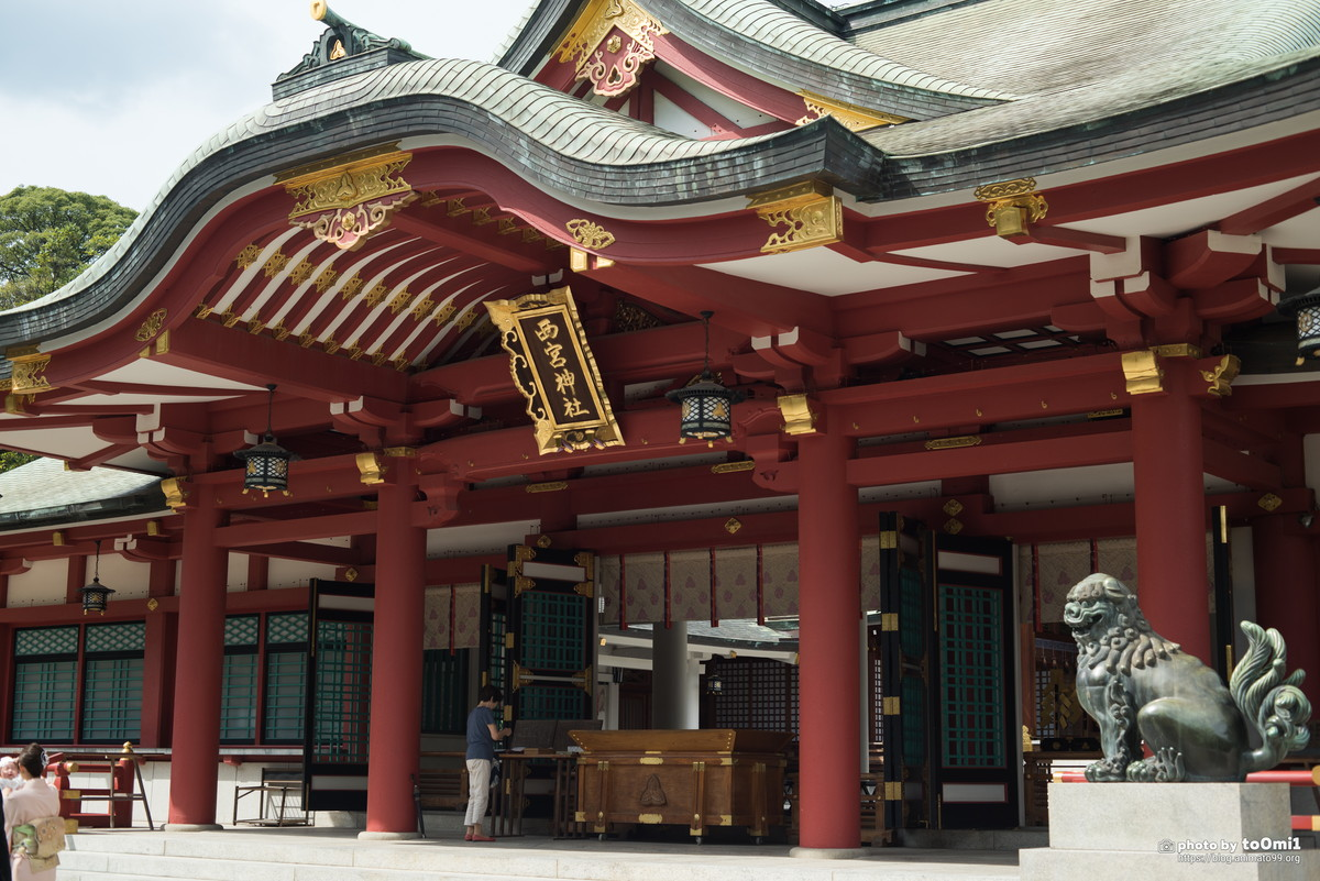 西宮神社【マクロプラナー】