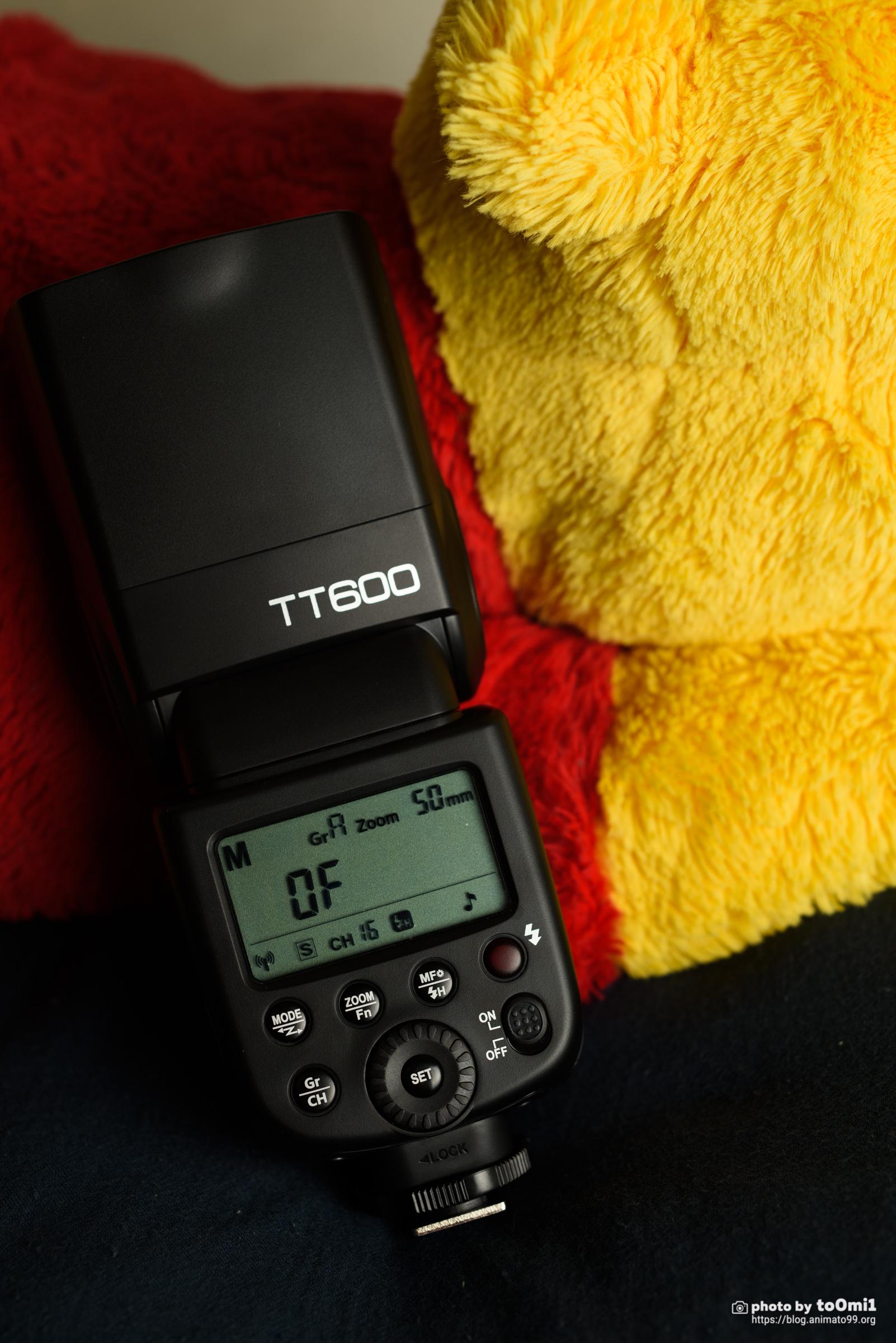 Godox TT600を購入しました。