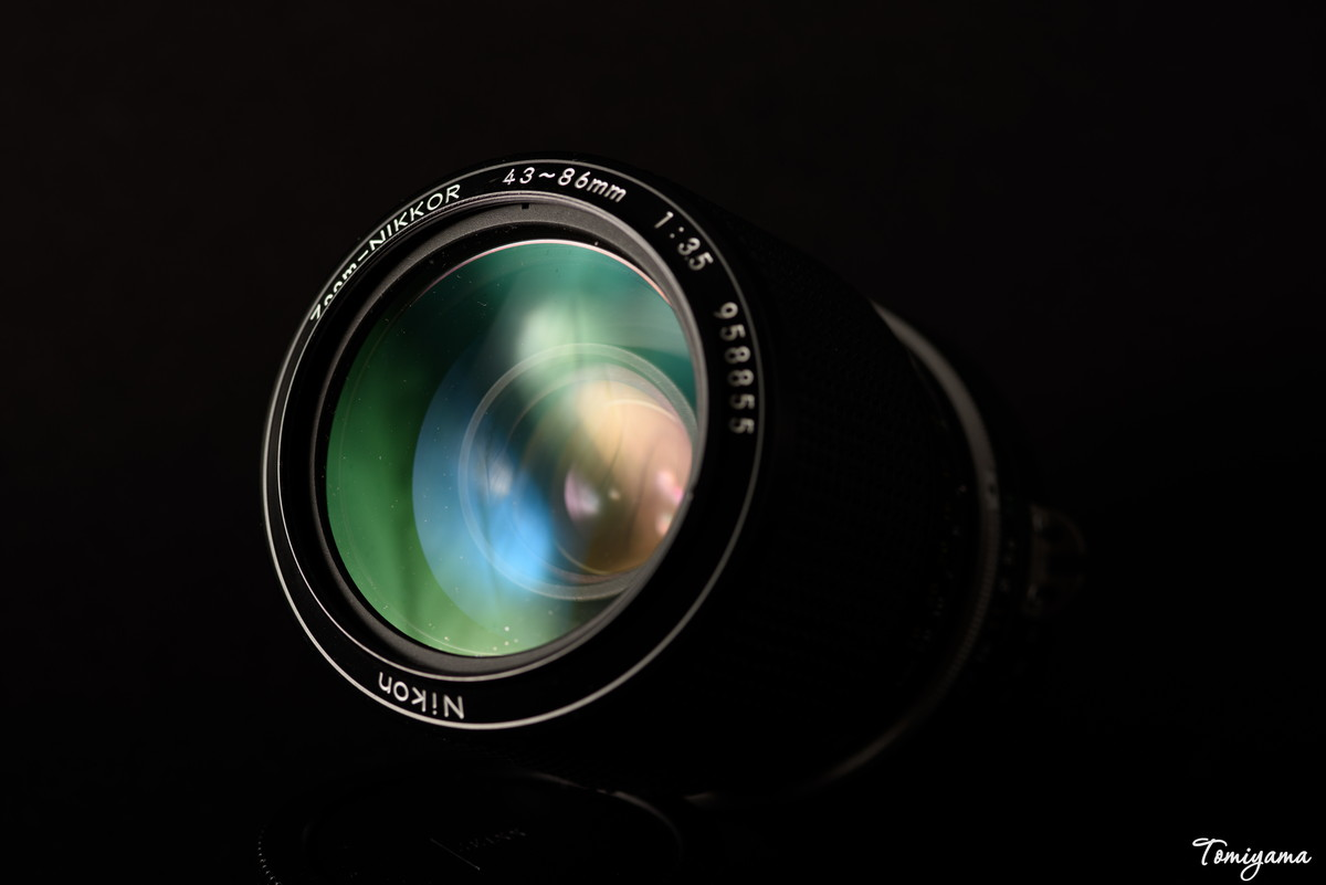 AI Zoom-NIKKOR 43~86mm F3.5 を買ってみました!