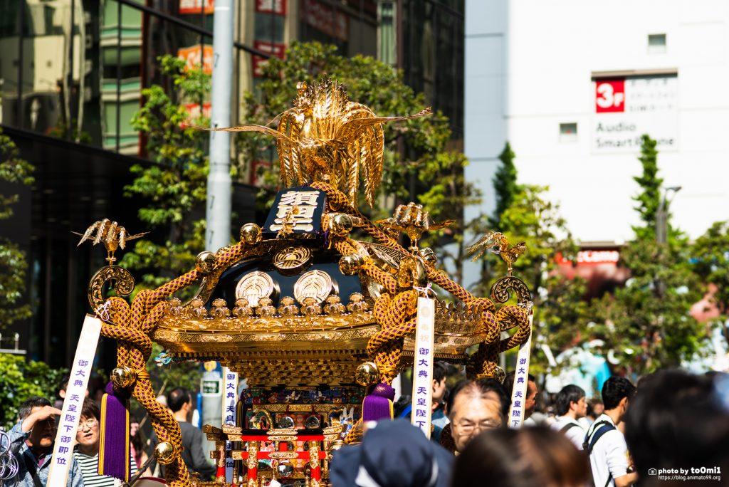 神田名神祭の様子を見てきました